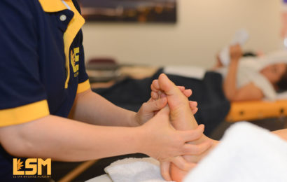 Foot Relexology At Le Spa Massage Academy