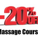 Massage courses dscount by Le Spa Massage Academy