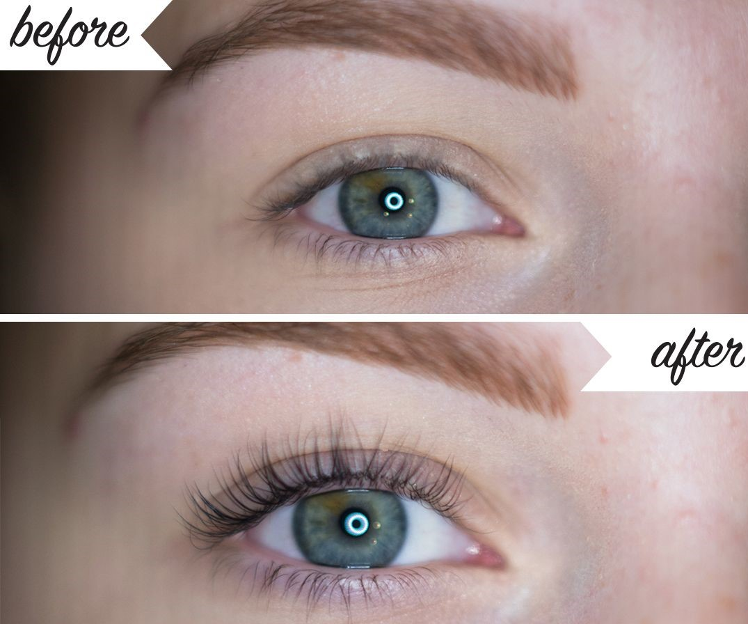 lash lifts before and after beauty course