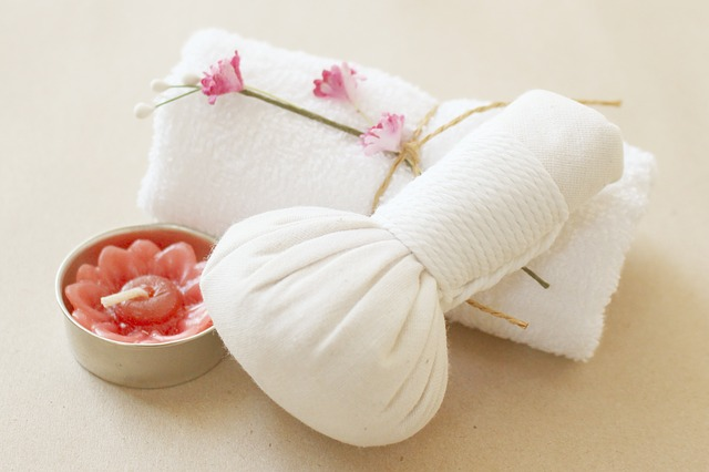 Stretch and herbal massage
